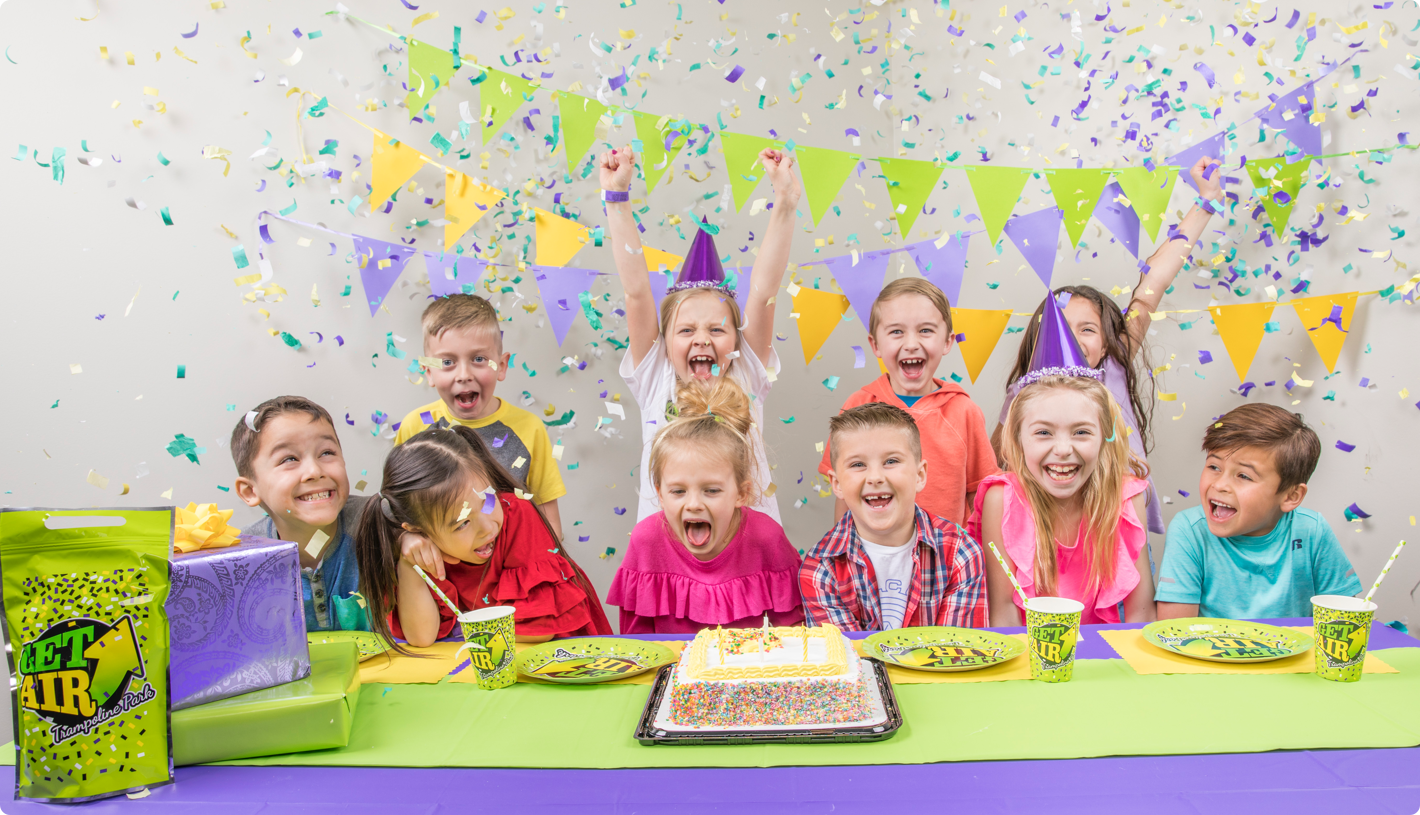 The Best Kids Birthday Parties Are At Get Air Trampoline Park
