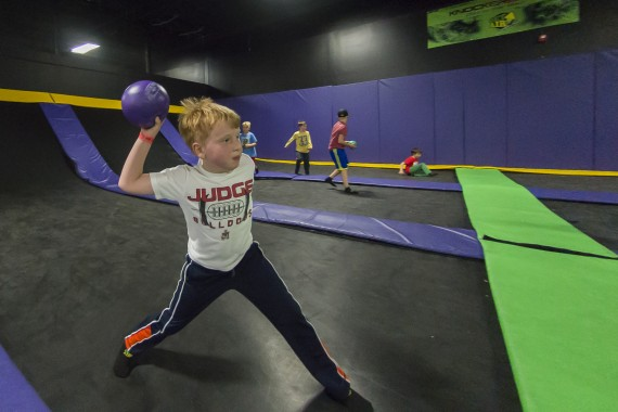 family fun at get air
