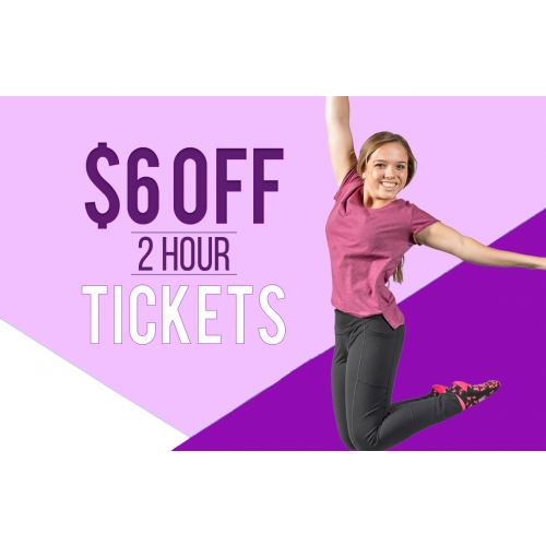 GET $6 OFF 2-HOUR TICKETS