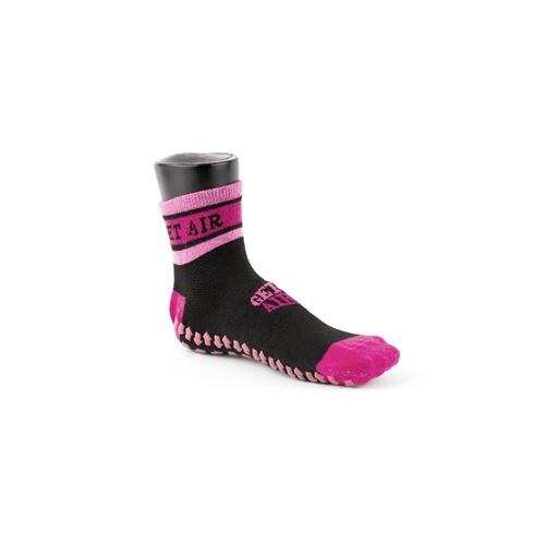 Black and Pink Jump Socks