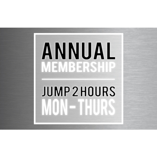 "Annual Membership – Big Air Jumper (Taller Than 46"")"