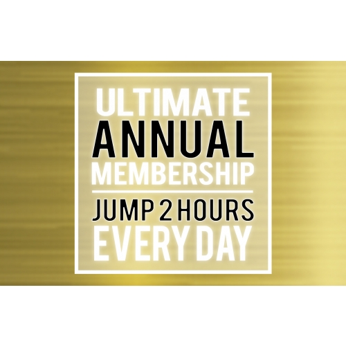 """Ultimate Annual Membership –Little Air Jumper (46"""" and Shorter)"""