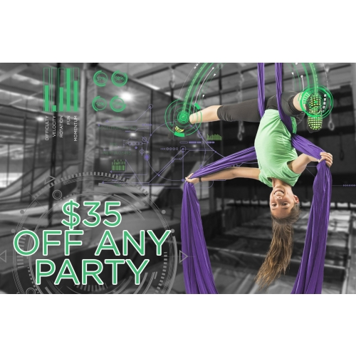 Get $35 Off Any Party Package
