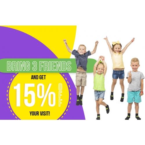 Bring Your BFFs - Get 15% Off