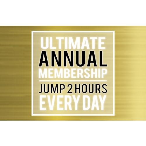 """Ultimate Annual Membership –Big Air Jumper (Taller Than 46"""")"""
