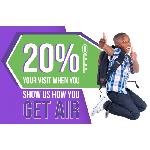 Back to School: Share How You Get Air Voucher