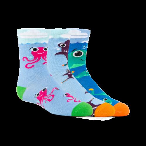 (Kids) Aquatic Amigos 3-Pack w/Blue