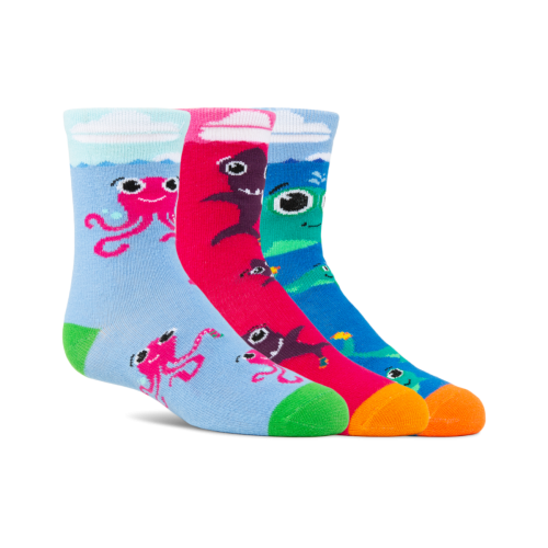 (Kids) Aquatic Amigos 3-Pack w/Pink