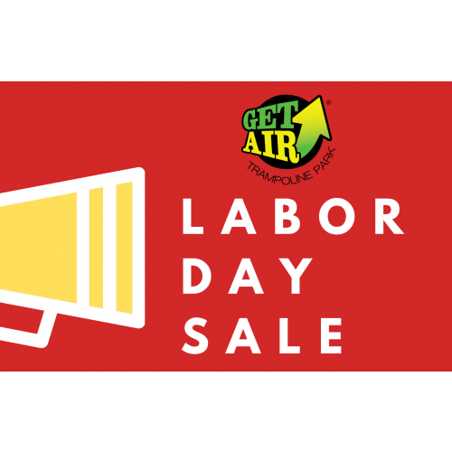 LABOR DAY SALE – GET 25% OFF TWO 2-HOUR TICKETS