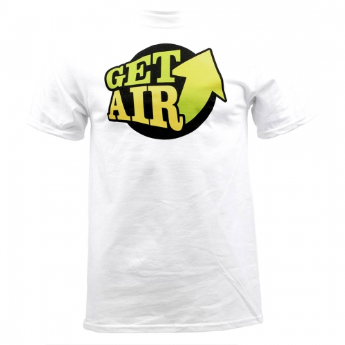BASIC GET AIR T-SHIRT - WHITE