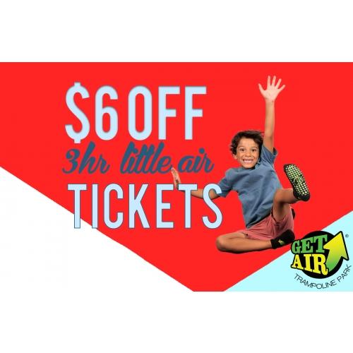 GET $6 OFF 3-HOUR JUNIOR ADMISSION TICKETS