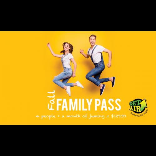 Fall Family Pass