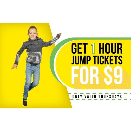 $9 Thursdays Jump Deal