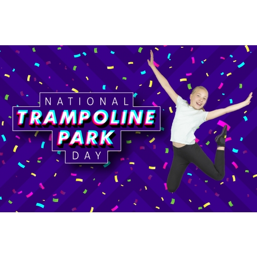 National Trampoline Park Day - $4 Off 2-Hr Jump Tickets