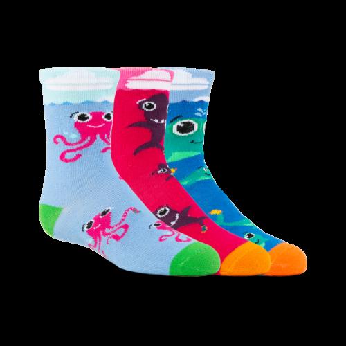 (Kids) Aquatic Amigos 3-Pack w/Pink