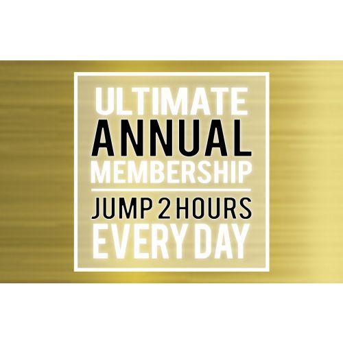 """Ultimate Annual Membership – Big Air Jumper (Taller Than 46"""")"""
