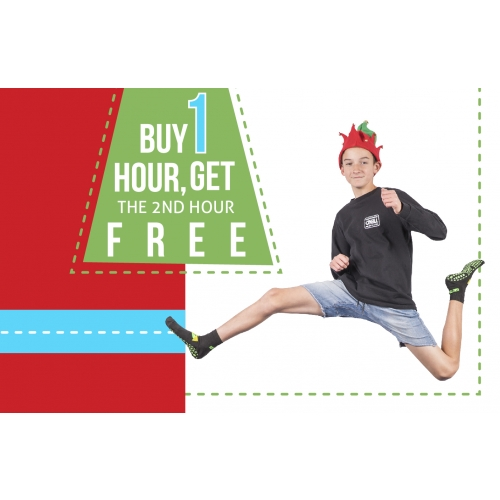 Hoho Bogo - 2-Hr Jump Ticket for the price of 1 (Monday through Thursday)