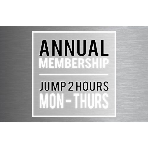 """Annual Membership – Big Air Jumper (Taller Than 46"""")"""