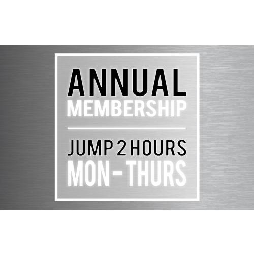 """Annual Membership –Big Air Jumper (Taller Than 46"""")"""