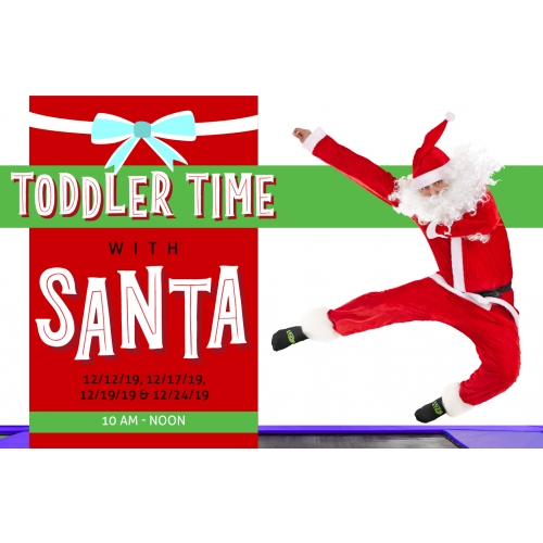 Toddler Time with Santa - 3 Toddler Time Tickets for $15