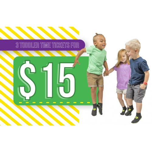 Totally Toddler Time - 3 Toddler Time Tickets for $15