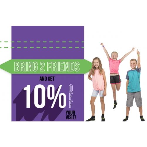 Bring Your BFFs - Get 10% Off