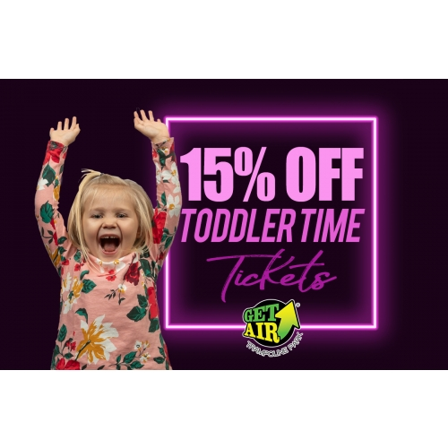 Get 15% off Toddler Time tickets