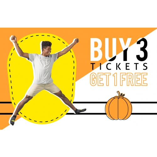 Ghoulish Good Deal - Buy 3 Get 1 Free Jump Tickets