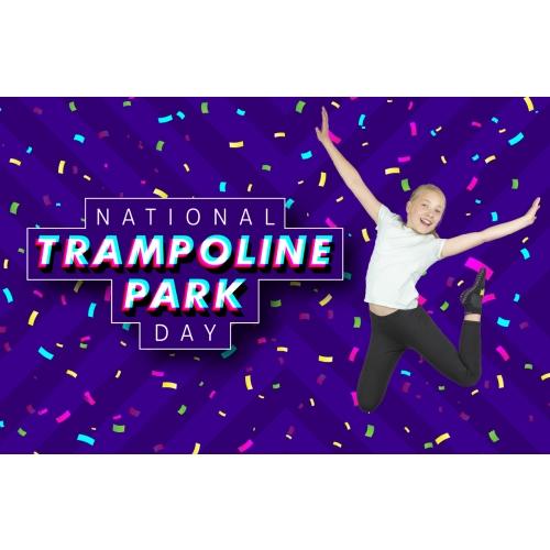 National Trampoline Park Day - $4 Off 2-Hr Jump Tickets