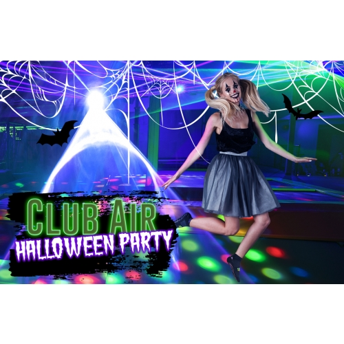 Club Air Halloween-Buy 1 Club Air ticket and get 1 half off