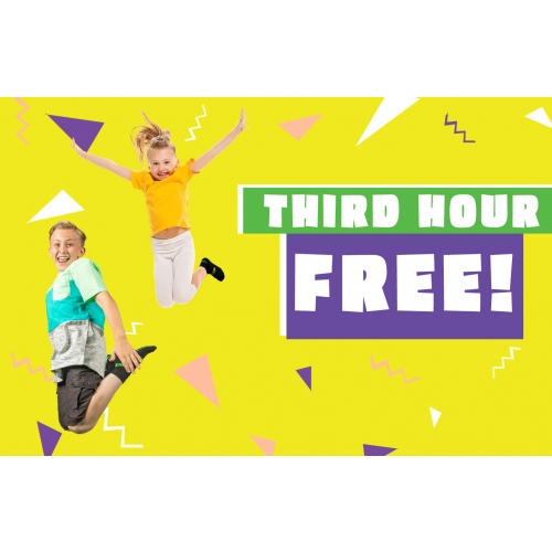 Summer Cool Down Sale-Buy two hours, get the third hour free