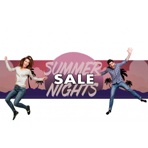 Summer Nights Sale - Two 1 Hour Tickets for $20